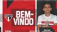 São Paulo anuncia a contratação do atacante Bruno Rodrigues