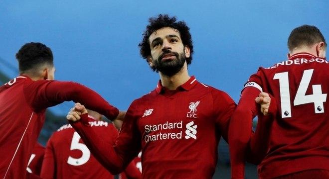 Salah é um dos grandes símbolos atuais do Liverpool