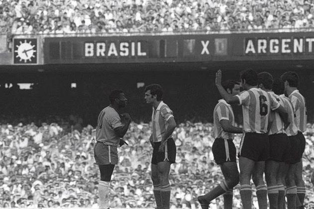 A primeira partida foi um Brasil x Argentina em 8 de março de 1970. Neste jogo, Pelé marcou seu último gol contra os hermanos. A Seleção venceu por 2 a 1.