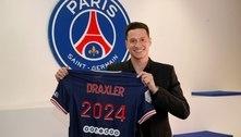 Paris Saint-Germain anuncia renovação de Draxler