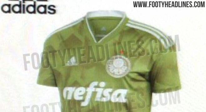 2082c6ed91 Vaza a possível nova camisa 3 do Palmeiras