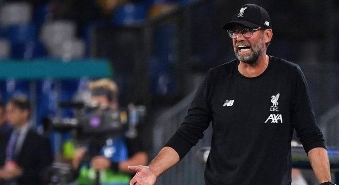 Klopp não gostou da estreia do Liverpool na Champions