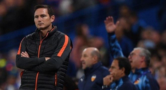 Lampard ficou desapontado com derrota na estreia