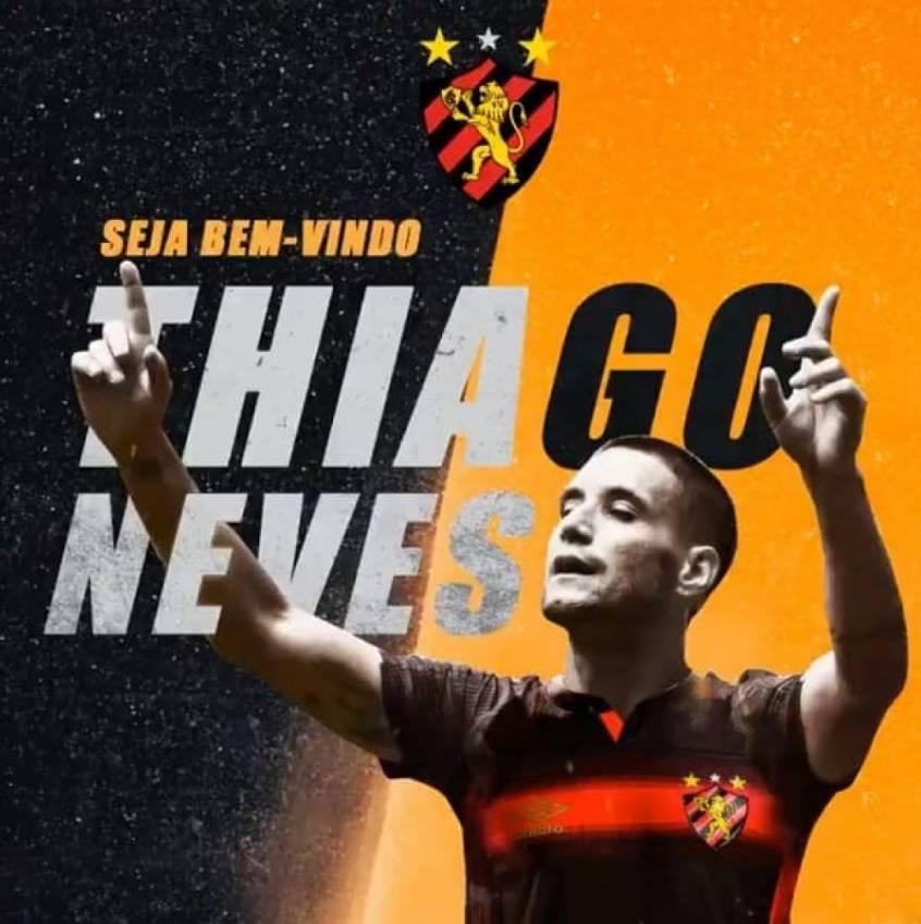 Thiago Neves, ex-Grêmio e barrado no Atlético-MG, chega com moral no Sport
