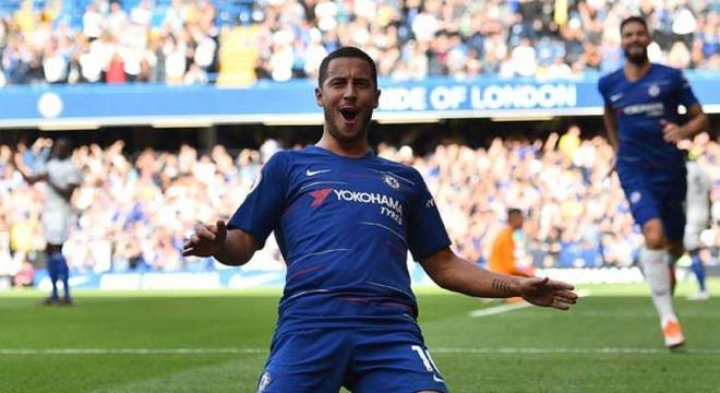 Hazard, camisa 10 do Chelsea, está na mira do Real Madrid