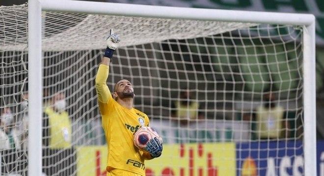 Weverton é um dos destaques do time do Palmeiras
