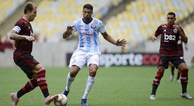 Flamengo e Macaé terminaram no empate sem gols neste sábado