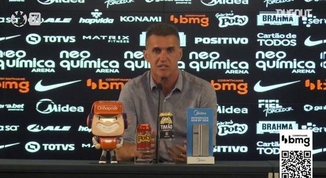 Vagner Mancini perdeu o seu primeiro clássico pelo Corinthians