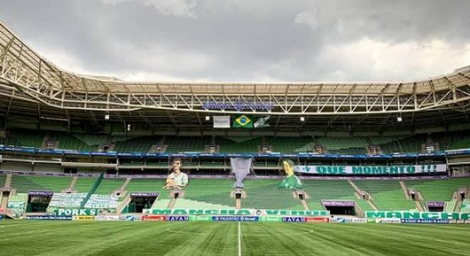 Palmeiras chega a R$ 2,5 milhões de prejuízo com jogos sem público