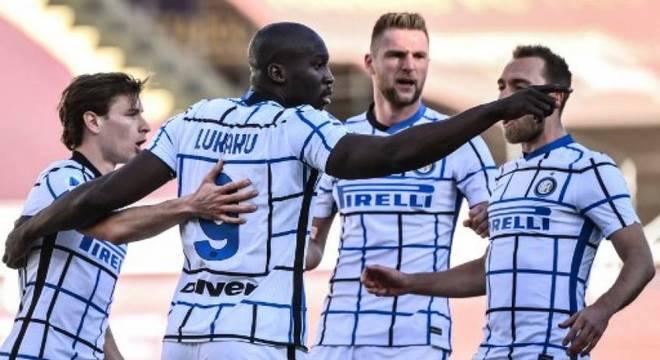Inter faz grande campanha e é a líder do Campeonato Italiano