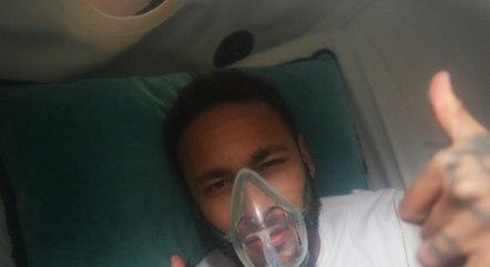 Neymar lamentou atual situação