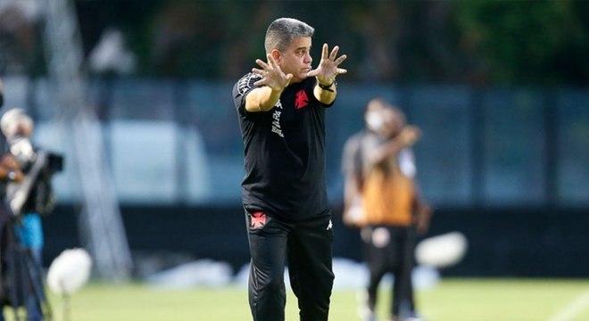 Marcelo Cabo está no início de trabalho no Vasco