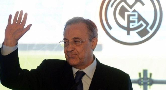 Florentino Pérez, presidente do Real Madrid, é também o presidente da Superliga