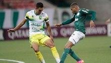 Com gol no último lance, Palmeiras perde invencibilidade