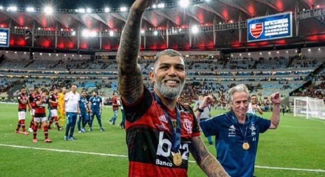 Gabigol e Jorge Jesus construíram uma bela relação no Flamengo