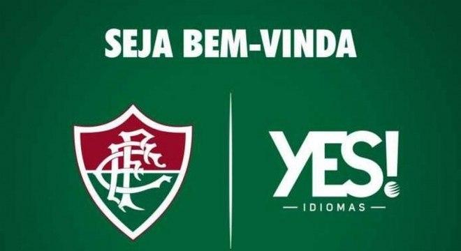 Novo patrocinador  Fluminense acerta com a Yes! até o fim de 2018 ... ec602e8c48ab9
