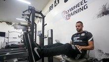 Renato Augusto faz treinamento de força com preparação física do Corinthians