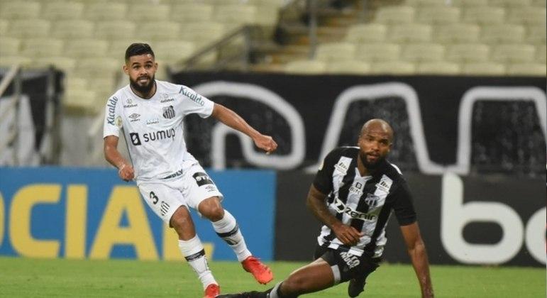 Santos e Ceará ficaram no 0 a 0
