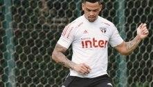 Luciano treina e deve ser titular do São Paulo em 'final' contra o Inter