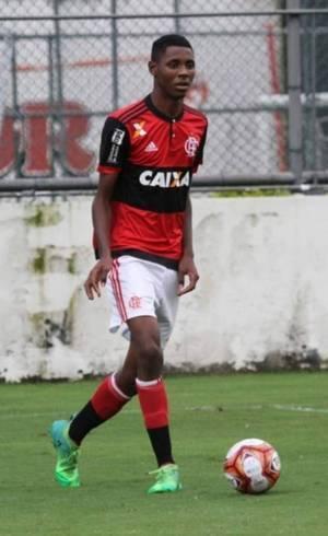 Jonatha Ventura em ação no Flamengo