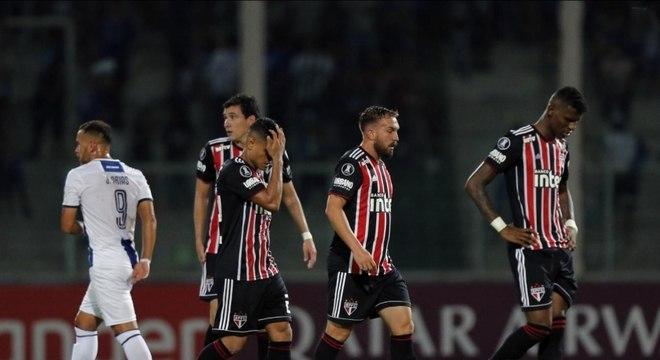 São Paulo já foi eliminado da Libertadores pelo Talleres c1d247405857b