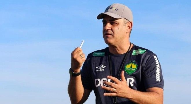 Marcelo Chamusca fez grande trabalho no Cuiabá na última Série B