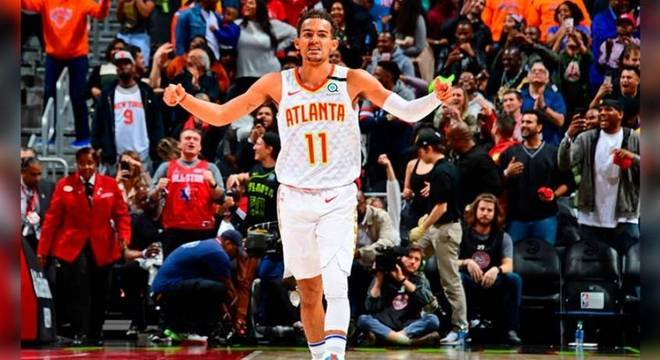 Trae Young é um dos grandes nomes da atual temporada da NBA