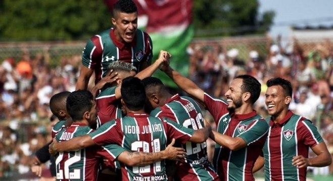 Fluminense venceu o clássico com o Flamengo na última rodada