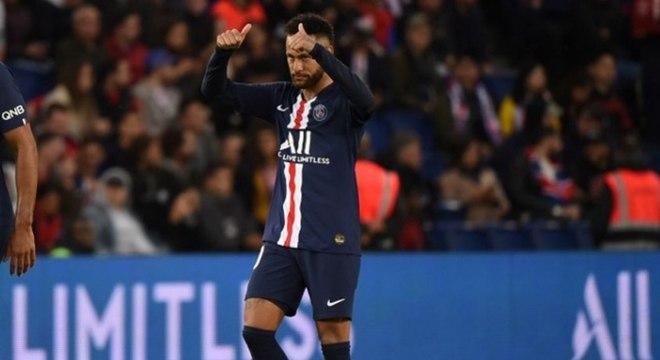 Neymar chegou ao Paris Saint-Germain em agosto de 2017