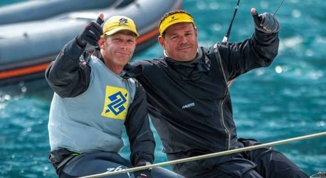 Robert Scheidt conquistou o Europeu de Star, ao lado de Henry Boening