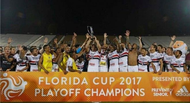66be2316e4314 São Paulo confirma sua participação na Florida Cup em 2019 - Lance ...