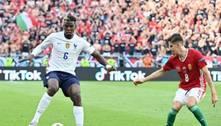 Hungria sai na frente, mas França busca empate pela Eurocopa