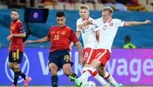 Espanha perde pênalti e não sai do empate com a Polônia