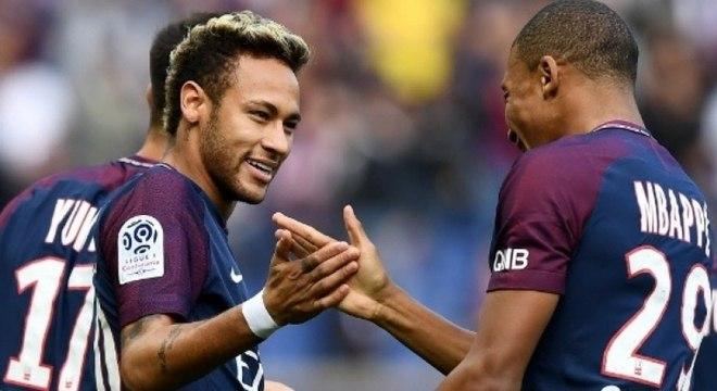 Neymar e Mbappé não devem atuar juntos na próxima temporada