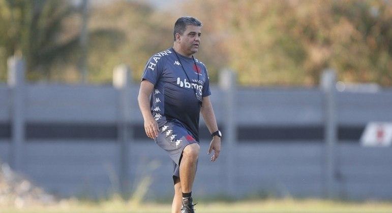 Marcelo Cabo não é mais técnico do Vasco