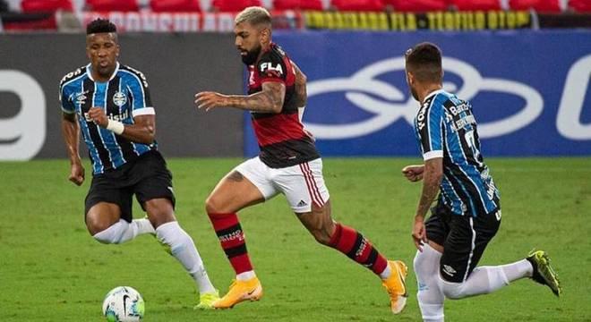 Gabigol estava sem fazer um gol há sete partidas consecutivas