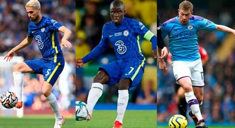 Kanté, Jorginho e De Bruyne foram eleitos os melhores da Europa, segundo Uefa