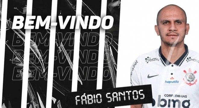 Fábio Santos teve grande passagem pelo Corinthians entre 2011 e 2015