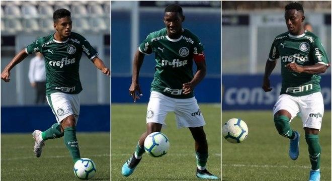 Gabriel Menino, Patrick de Paula e Angulo: garotos do Palmeiras em alta para 2020