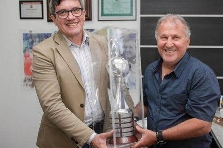 Zico foi campeão da Copa Libertadores 1981