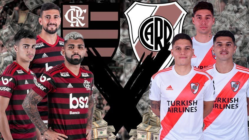 Confira Valores De Mercado Dos Jogadores De Flamengo E River