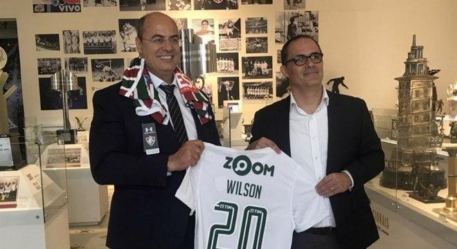 Fluminense recebe visita do governador eleito Wilson Witzel - Lance ... 350cd62cdb0be