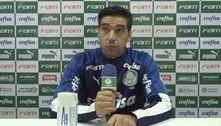 Abel Ferreira pede desculpas após se exaltar com arbitragem: 'Não fui à altura de um treinador do Palmeiras'