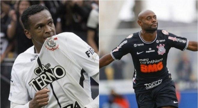 Jô e Love podem reeditar dupla de sucesso no Corinthians