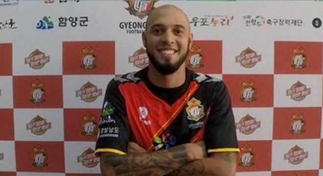 Paulinho tem contrato com o Gyeongnam 4870d4c151172