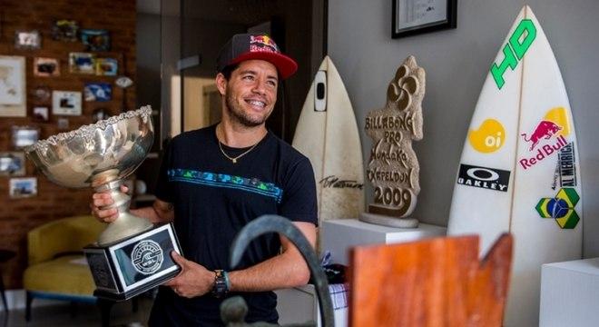 Adriano de Souza fez um trabalho intensivo para se recuperar da lesão no joelho