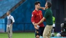 Luis Enrique balança no cargo da seleção espanhola