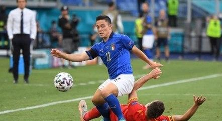 Pessina fez o gol da Itália contra Gales