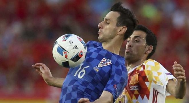 Kalinic perdeu a chance de entrar para a história do futebol croata