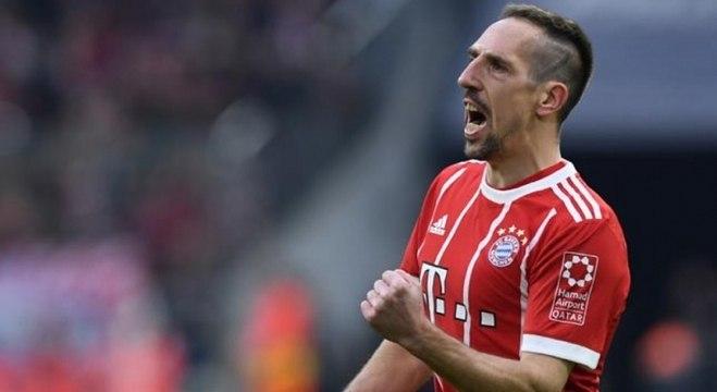 Ribéry atuou por 12 anos no Bayern de Munique e conquistou inúmeros títulos